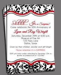 40th anniversary invitations anniversary party invitations marialonghi