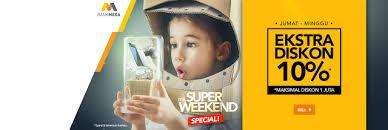 blibli weekend kupon diskon blibli weekend promo ekstra diskon 10 kupon diskon