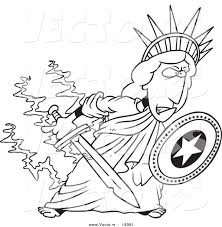 printable coloring pages statue of liberty coloring pages free