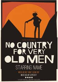 no country for very old men personalised card