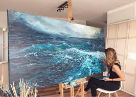 best 25 sea paintings ideas on pinterest how to paint water