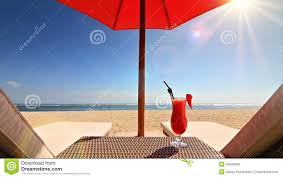 Beach Lounge Chair Umbrella Relaxing On The Beach Stock Footage Video 40503898