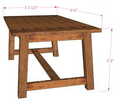 brilliant design how to build a dining table amazing chic