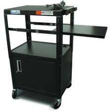 multimedia cart with locking cabinet buhl plcab5434e flat panel av cart with locking cabinet adjustable