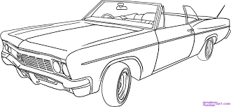 lowrider coloring pages bestofcoloring com