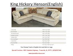King Hickory Sofa Reviews by Barnett Furniture Sectionals
