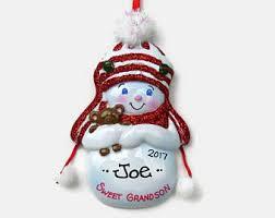 Goddaughter Christmas Ornaments Grandson Ornament Etsy