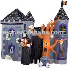 Inflatable Halloween Decorations Inflatable Halloween Haunted Castle Decorations Inflatable