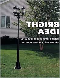 how to install outdoor light post outdoor l post with electrical outlet lighting outdoor light