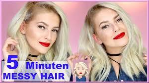 Frisuren F Lange Haare In 5 Minuten by Einfache 5 Minuten Volumen Frisur Bad Hair Day Valentinstag