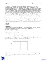 Monohybrid Cross Biology Lab Manual