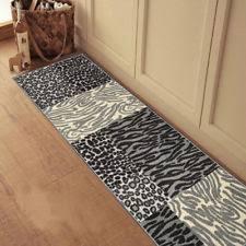Cheetah Runner Rug Animal Print Runner Rugs Ebay