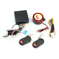 bike motorcycle security alarm system immobiliser remote control