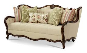 Wooden Carving Furniture Sofa Sofas Center Sm7435 Ashley Sofa With Wood Trimbroyhill Trim