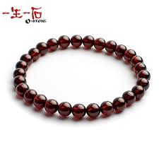 garnet bracelet images Life of a genuine natural red garnet stone bracelet female need jpg