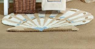 Seashell Bathroom Rug 29 99 Sarasota Seashells Rug From Saturday Ltd Get It Here