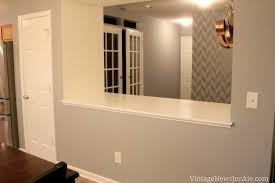 cleaning walls before painting how to paint a wall using a stencil herringbone pattern