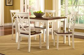 furniture surprising round piece dining set white table cottage