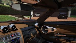 pagani interior pagani huayra brown interior retexture gta5 mods com