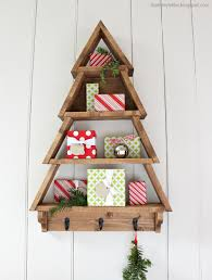 diy wood christmas tree diy projects diy decor pinterest