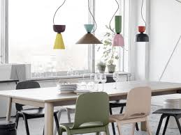 modern farmhouse dining room contemporary pendant lightingr dining room kitchen with high