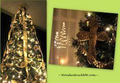 christmas tree bow topper christmas tree topper faux burlap christmas by weddingsandwreaths