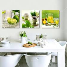 Artwork For Dining Room 2017 3 Panel Canvas Art Fruits Kitchen Canvas Painting Large Wall