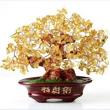 shop citrine lucky feng shui tree money tree