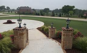 solar lights for driveway pillars miscellaneous solar lights customer photo gallery