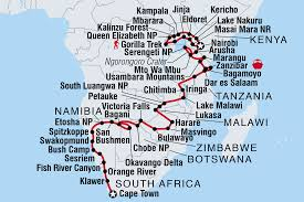 Victoria Falls Map Namibia Tours U0026 Travel Intrepid Travel
