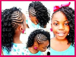 the half braided hairstyles in africa side mohawk braid hairstyle for black girl popular long