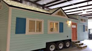 tiny home on wheels beach inspired exterior modern kitchen and