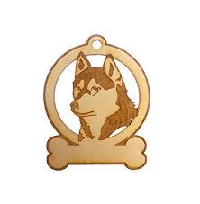 siberian husky ornament husky ornaments