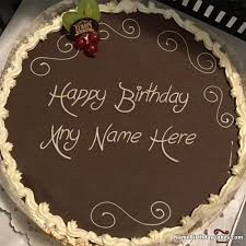 the birthday cake create happy birthday cake with name and photo