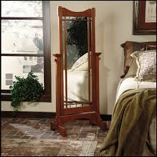 Mirror For Bedroom Decorating White Solid Wood Cheval Mirror For Home Furniture Ideas
