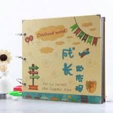Diy Scrapbook Album 18 Inch Diy Photo Album Handmade Bithday Gift Children Sticky