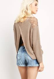 slit sweater back slit sweater shop cardigans at papaya clothing
