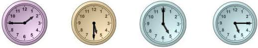 english exercises telling time