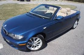 bmw convertible cars for sale 2005 bmw 330ci convertible for sale blue automatic heated