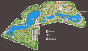 dublin zoo map map of dublin zoo ireland