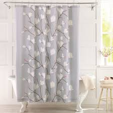 Shower Curtain At Walmart - better homes and gardens cherry blossom fabric shower curtain