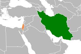 Dubai Map Of Middle East by Iran U2013israel Relations Wikipedia