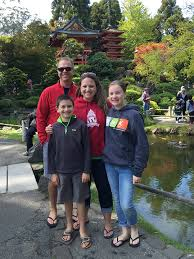 Family Garden Sf Japanese Tea Garden In Golden Gate Park San Francisco