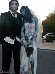 Corpse Bride Halloween Costumes Emily Victor Corpse Bride Costume Corpse Bride