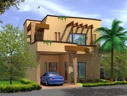 3D Front Elevation Lahore