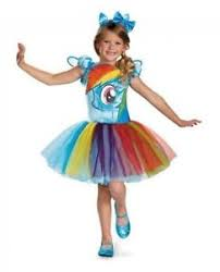 4t Halloween Costumes Disguise Pony Rainbow Dash Child Halloween Costume Girls