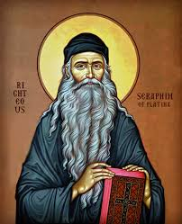 st the forerunner akathist to seraphim of platina