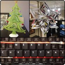 Decorating Ideas For Office At Work 60 Fun Office Christmas Decorations To Spread The Festive Cheer