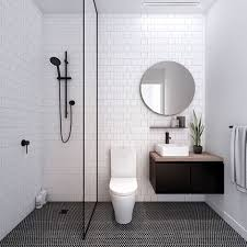 small tiled bathroom ideas 22 best scandinavian bathroom ideas you should monochrome