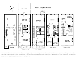 brownstone floor plans back historic brownstone floor plans home plans blueprints 40751